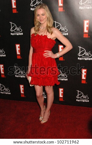 Yvonne Strahovski  at the E! Oscar Viewing and After Party, Drai's, Hollywood, CA. 04-07-10