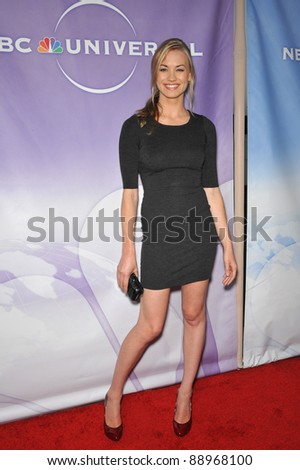 "Yvonne Strahovski - star of ""Chuck"" - at NBC Universal TV Summer Press Tour Party in Beverly Hills.  July 30, 2010  Los Angeles, CA Picture: Paul Smith / Featureflash"