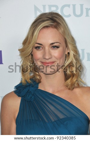Yvonne Strahovski, star of Chuck, at the NBC Universal Winter 2012 TCA party at The Athenaeum in Pasadena. January 6, 2012  Los Angeles, CA Picture: Paul Smith / Featureflash