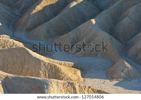 Zabriskie point, Death Valley California