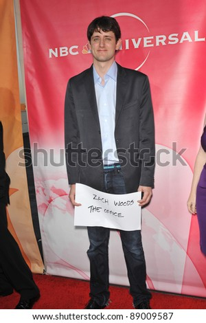 "Zach Woods - star of ""The Office"" - at NBC Universal TV Summer Press Tour Party in Beverly Hills.  July 30, 2010  Los Angeles, CA Picture: Paul Smith / Featureflash - stock photo"