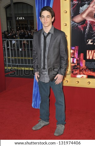 """Zachary Gordon at the world premiere of """"The Incredible Burt Wonderstone"""" at the Chinese Theatre, Hollywood. March 11, 2013  Los Angeles, CA Picture: Paul Smith - stock photo"""
