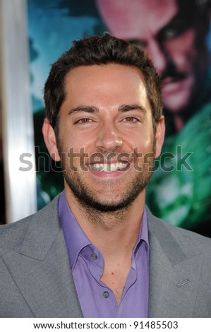 "Zachary Levi at the ""Green Lantern"" Los Angeles Premiere, Chinese Theater, Hollywood, CA. 06-15-11 - stock photo"