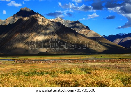 Zanskar Valley, India - stock photo