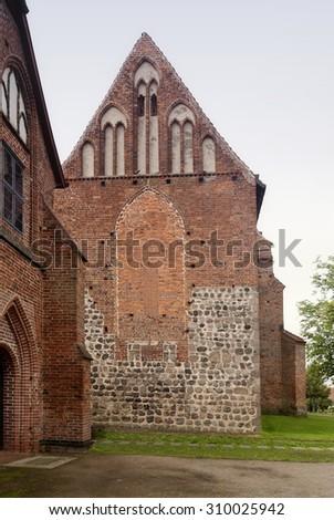 Zarrentin Abbey in Germany - stock photo