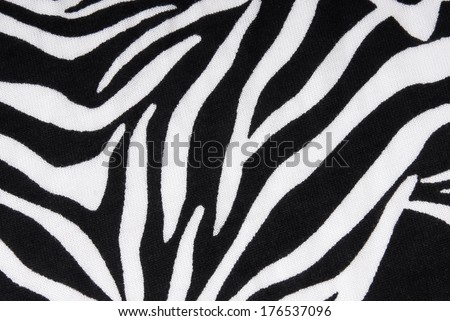 zebra fabric texture background