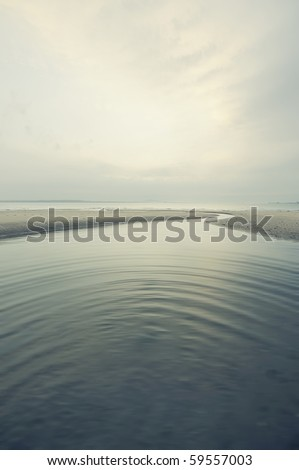 Zen:The lifestyle away from the busy city where you get to enjoy serenity and peace. - stock photo