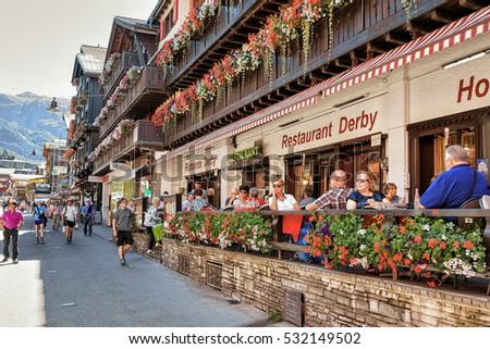 Cafe On Hill Switzerland