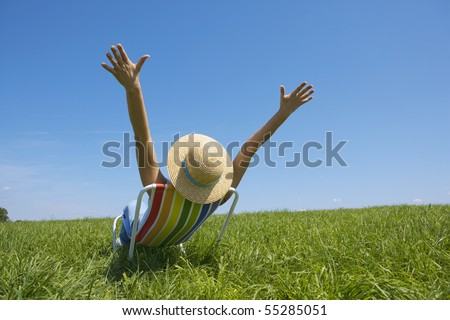 zest for life - stock photo