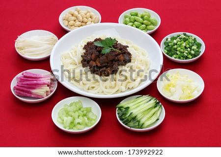 zha jiang mian zha jiang mian noodles noodles zhajiang noodles