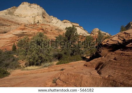 Zion National Park in southwestern Utah