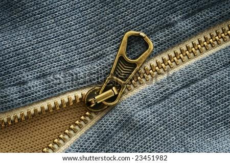 Zipper - stock photo