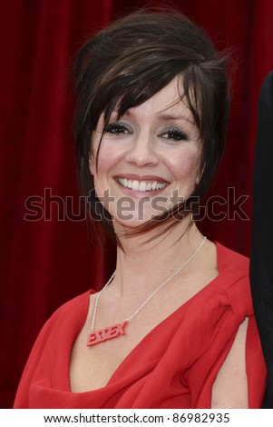 Zoe Henry arrives at the British Soap awards 2011 held at the Granada Studios, Manchester. 14/05/2011  Picture by Steve Vas/Featureflash