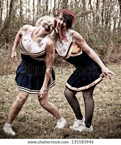 Zombie Cheerleaders