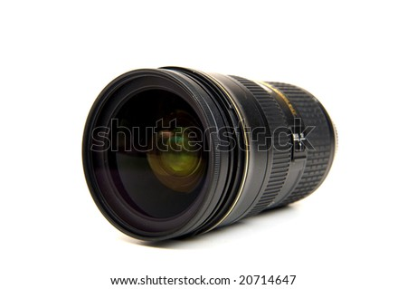 Zoom a lense for a photo camera