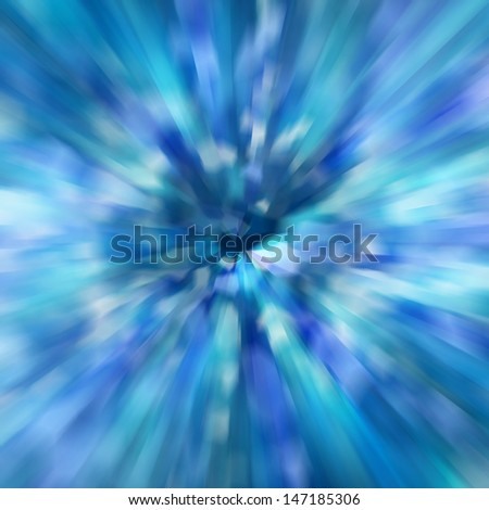 zoom speed of light abstract background - stock photo