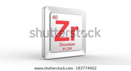 Zr symbol 40 material zirconium chemical stock illustration zr symbol 40 material for zirconium chemical element of the periodic table urtaz Image collections