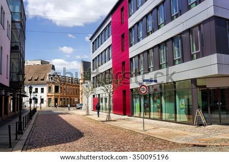 Zwickau - stock photo
