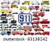 911 - stock vector