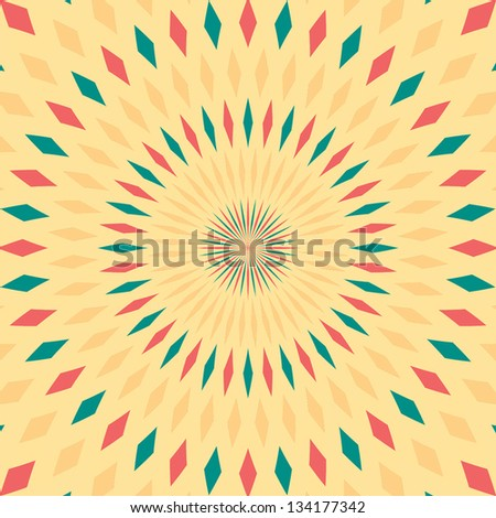 Abstract background. Colorful rays. Vector illustration EPS10 - stock vector
