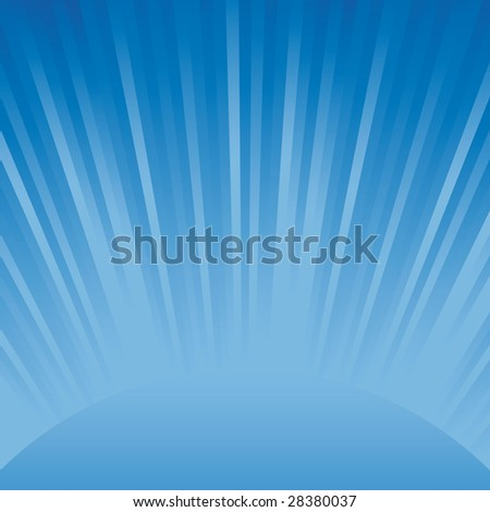 Abstract Blue Light Background