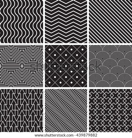abstract seamless backgrounds with lines