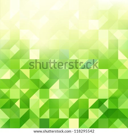 abstract triangles background - stock vector