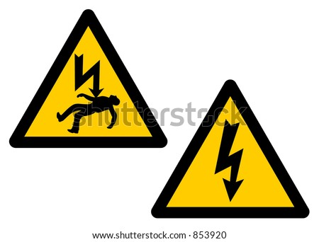 AC, current, DC, ignition, juice, light, service, spark, tension, utilities - stock vector