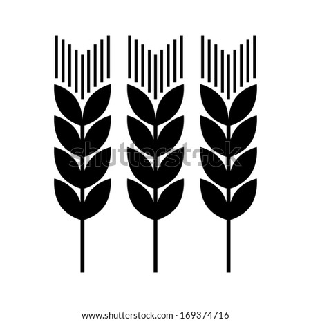 Agricultural icon   - stock vector