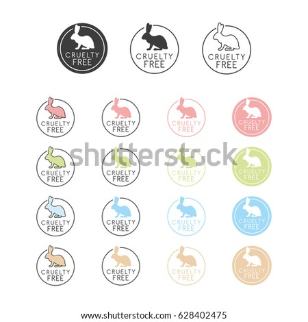 Animal Cruelty Free Symbol Can Be Stock Vector 628402475 Shutterstock