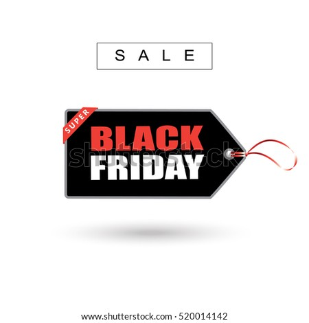 Black friday sale price tag sticker poster design template vector sticker tag price