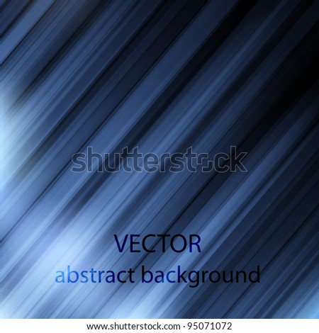 Blue abstract background.Vector eps10 - stock vector