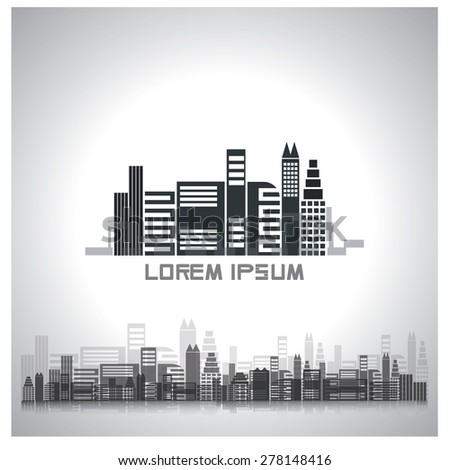 building abstract logo