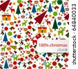 """christmas texture background"" - stock vector"