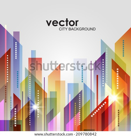 Cityscape - stock vector