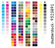 ''cmyk_color'' - stock photo