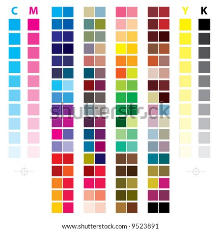 ''cmyk_color'' - stock vector