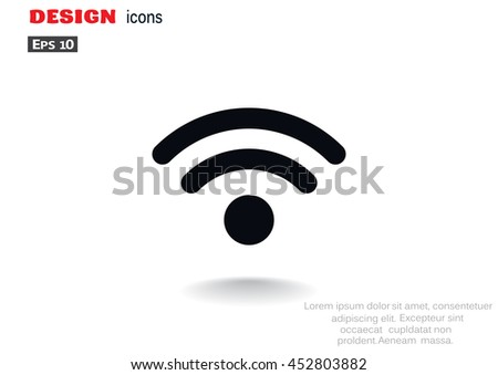 Communication Icon Vector.  - stock vector