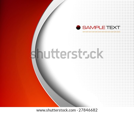 3d background composition - vector illustration - jpeg version in my portfolio - stock vector