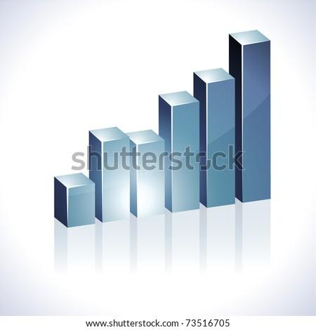 3d diagram. - stock vector