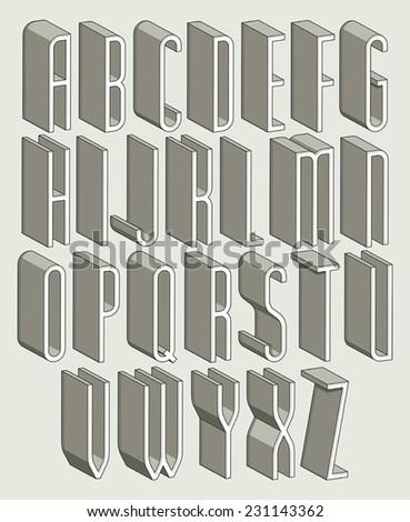 3d Font Alphabet Stock Images, Royalty-Free Images & Vectors ...