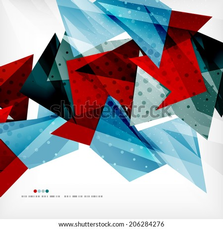 3d futuristic shapes vector abstract background made of glossy pieces with light effects and textured surfaces