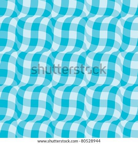 3d illusion tablecloth - seamless pattern