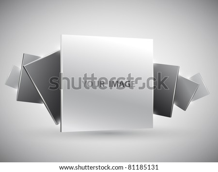 3D images gallery - stock vector