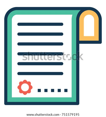 degree vector illustration flat style icon stock vector 2018 rh shutterstock com certificate vector template free download certificate vector design