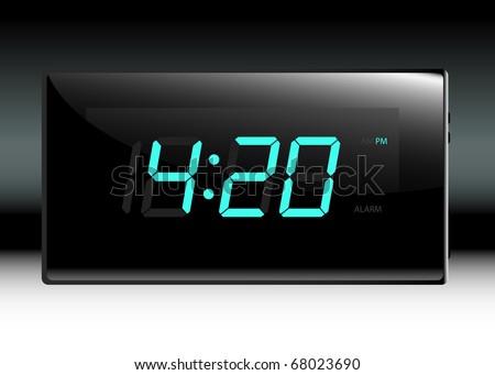 Digital Clock Stock Images Royalty Free Images Vectors