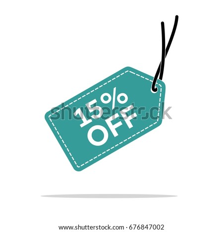 Discount Hang Tag Vector Template Stock Vector Hd Royalty Free