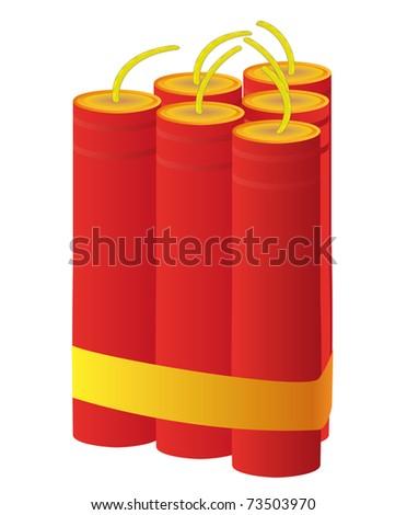 Dynamite - stock vector