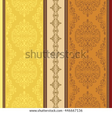 Ethnic geometric print. Colorful repeating background texture. Fabric, cloth design, wallpaper