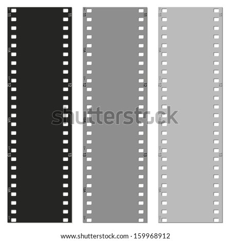 film vector pattern background - stock vector